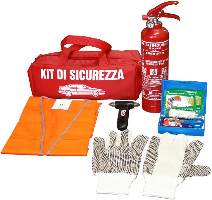 Kit sicurezza per auto firest for Prezzo del ferro vecchio al kg